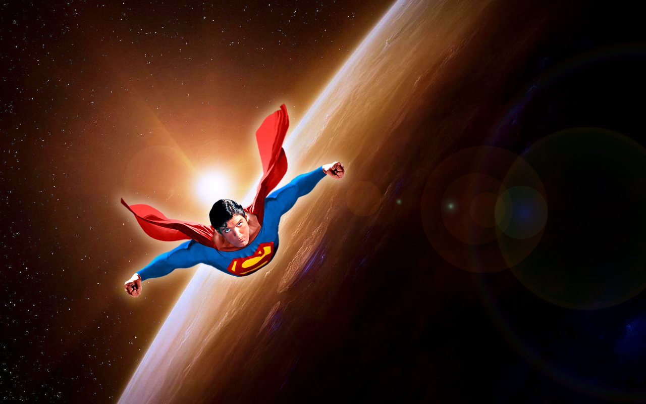 How did superman learn to fly the patron saint of for Flying spaces
