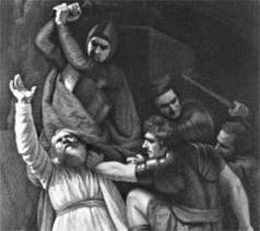 Becket murdered