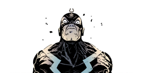 Black Bolt self-restraint