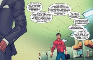 Clark quits the Daily Planet