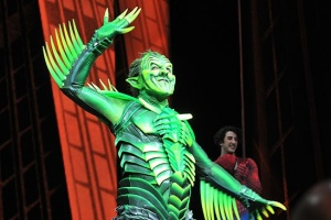 Green Goblin on Broadway