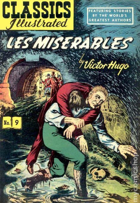 Les Miserables Classics Illustrated