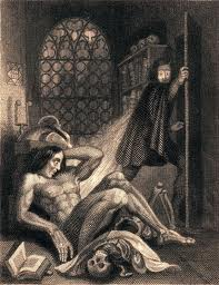 early Frankenstein illustration