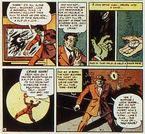 Detective Comics 66. Two-Face's origin