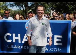 Matt Damon for Obama