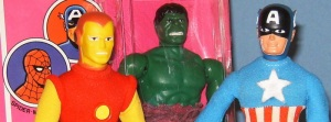 Mego action figures