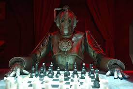 Cybermen vs. Dr. Who chess