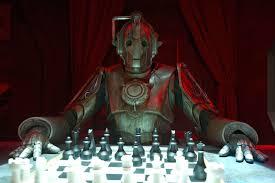 Cybermen vs. Dr. Who chess