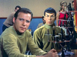 Kirk vs. Spock chess