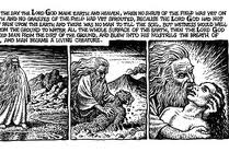 Crumb's God and Adam
