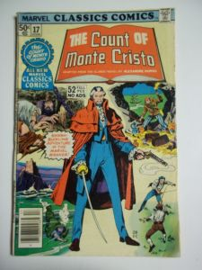count of monte cristo comic