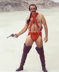connery in zardoz