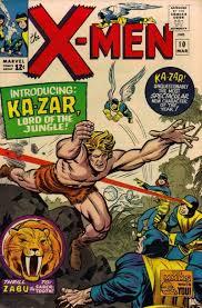ka-zar and x-men