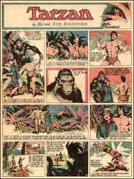 tarzan sunday comic strip