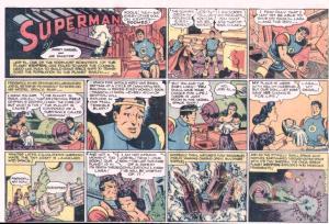 nov 1944 sunday superman wayne boring