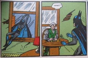 original DC art by bob kane cropped