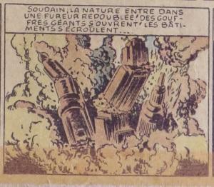 wayne boring krypton city explodes