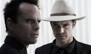 Walton Goggins and Timothy Olyphant in Justified