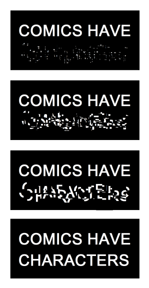 Comics Have Characters