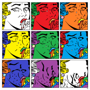 Crying ROY (Lichtenstein & Warhol Parody)