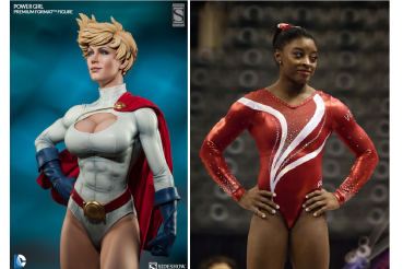 power girl and biles
